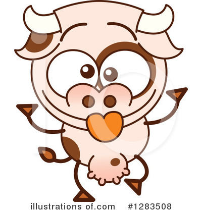 Cow Clipart #1283508 by Zooco