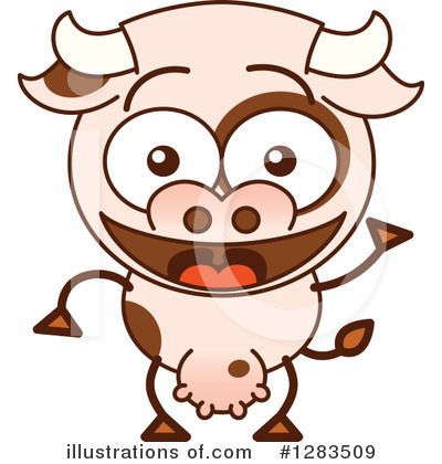 Cow Clipart #1283509 by Zooco