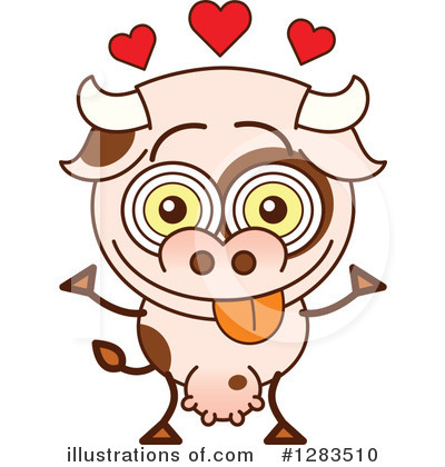 Cow Clipart #1283510 by Zooco