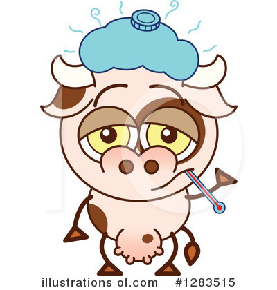 Cow Clipart #1283515 by Zooco