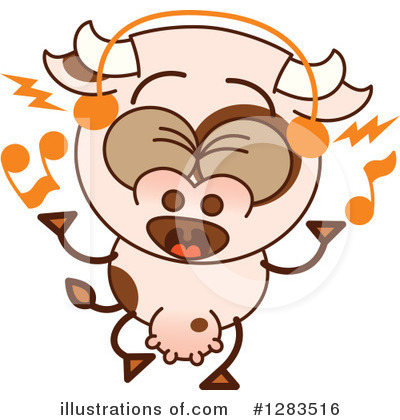 Cow Clipart #1283516 by Zooco