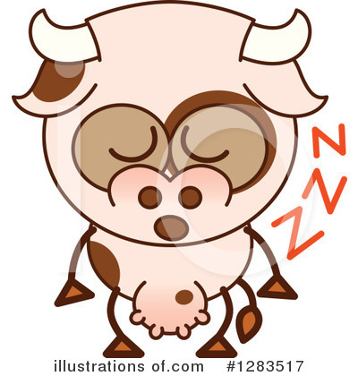 Cow Clipart #1283517 by Zooco