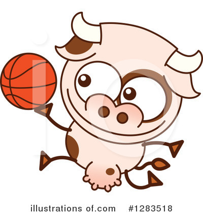 Cow Clipart #1283518 by Zooco