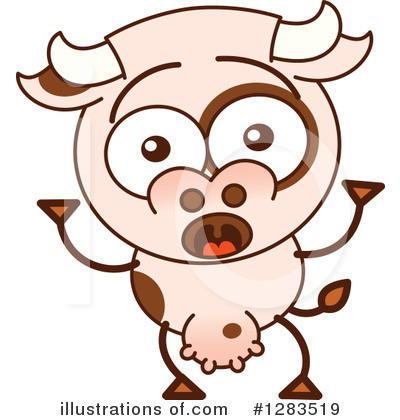 Cow Clipart #1283519 by Zooco