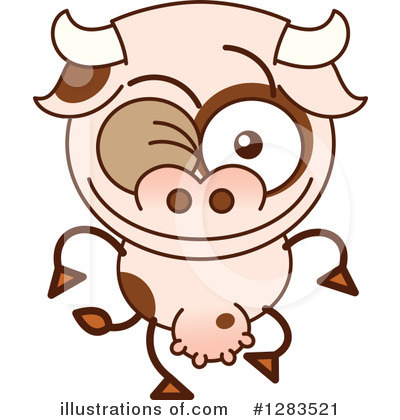 Cow Clipart #1283521 by Zooco