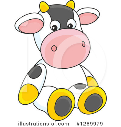 Cow Clipart #1289979 by Alex Bannykh