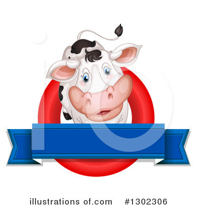 Cow Clipart #1302306 by Graphics RF