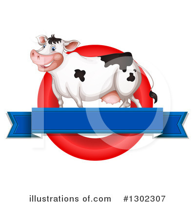 Cow Clipart #1302307 by Graphics RF