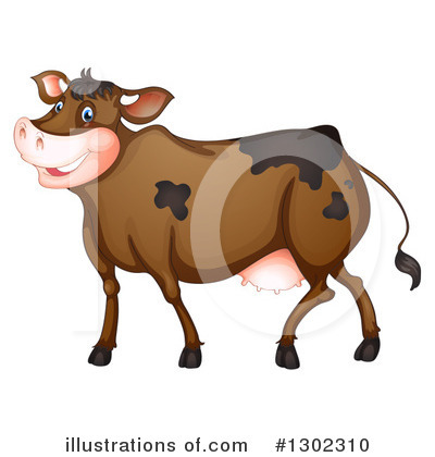 Cow Clipart #1302310 by Graphics RF