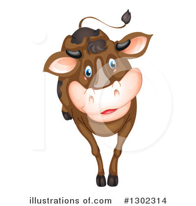 Cow Clipart #1302314 by Graphics RF