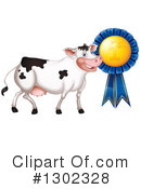 Cow Clipart #1302328 by Graphics RF