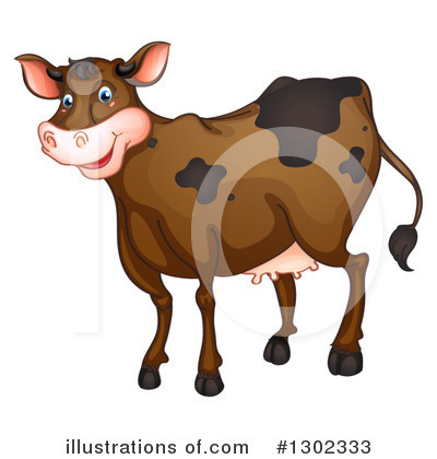 Cow Clipart #1302333 by Graphics RF