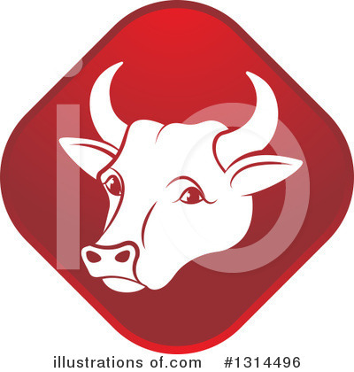 Cow Clipart #1314496 by Lal Perera