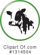 Cow Clipart #1314504 by Lal Perera