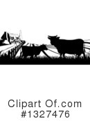 Cow Clipart #1327476 by AtStockIllustration