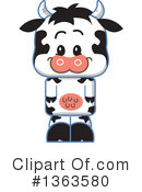 Cow Clipart #1363580 by Clip Art Mascots