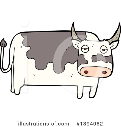 Cow Clipart #1394062 by lineartestpilot