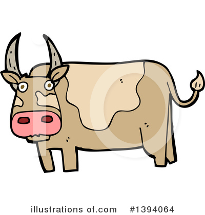 Cow Clipart #1394064 by lineartestpilot
