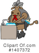 Cow Clipart #1407372 by djart
