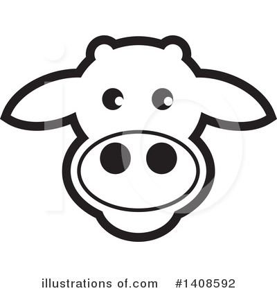 Cow Clipart #1408592 by Lal Perera