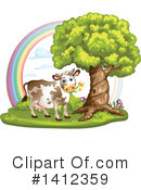 Cow Clipart #1412359 by merlinul