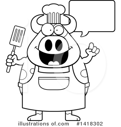 Spatula Clipart #1418302 by Cory Thoman