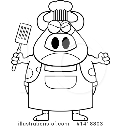 Spatula Clipart #1418303 by Cory Thoman