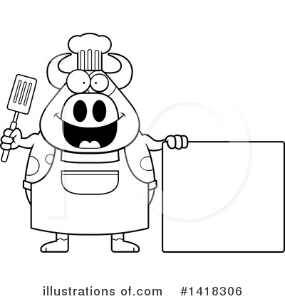 Spatula Clipart #1418306 by Cory Thoman