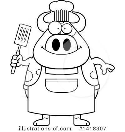 Spatula Clipart #1418307 by Cory Thoman