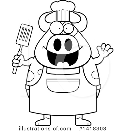 Spatula Clipart #1418308 by Cory Thoman