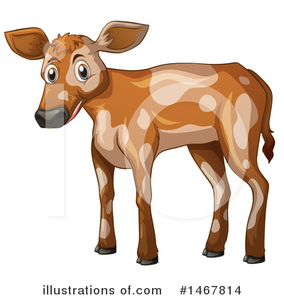 Royalty-Free (RF) Cow Clipart Illustration by Graphics RF - Stock Sample #1467814