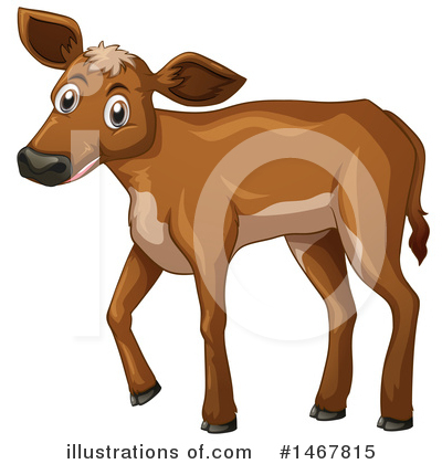 Royalty-Free (RF) Cow Clipart Illustration by Graphics RF - Stock Sample #1467815