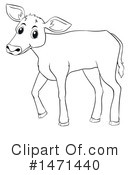 Cow Clipart #1471440 by Graphics RF