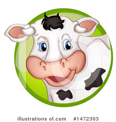 Cow Clipart #1472303 by Graphics RF