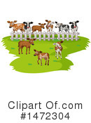 Cow Clipart #1472304 by Graphics RF