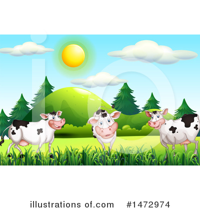 Cow Clipart #1472974 by Graphics RF