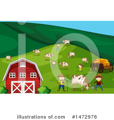 Cow Clipart #1472976 by Graphics RF