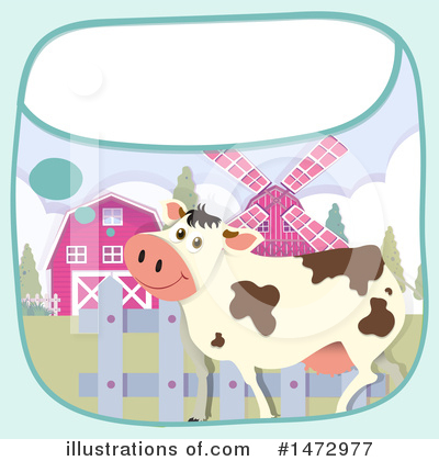 Cow Clipart #1472977 by Graphics RF