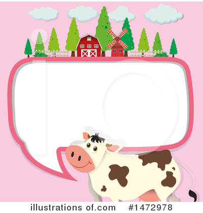 Cow Clipart #1472978 by Graphics RF