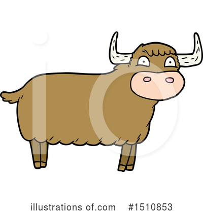 Cow Clipart #1510853 by lineartestpilot