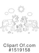 Cow Clipart #1519158 by Alex Bannykh