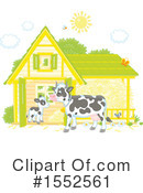 Cow Clipart #1552561 by Alex Bannykh