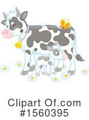 Cow Clipart #1560395 by Alex Bannykh