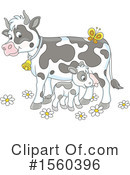 Cow Clipart #1560396 by Alex Bannykh