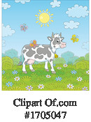 Cow Clipart #1705047 by Alex Bannykh