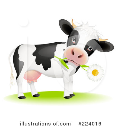 Cow Clipart #224016 by Oligo