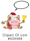 Royalty-Free (RF) cow Clipart Illustration #434488