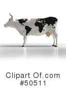 Cow Clipart #50511 by Frank Boston