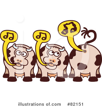 Cow Clipart #82151 by Zooco