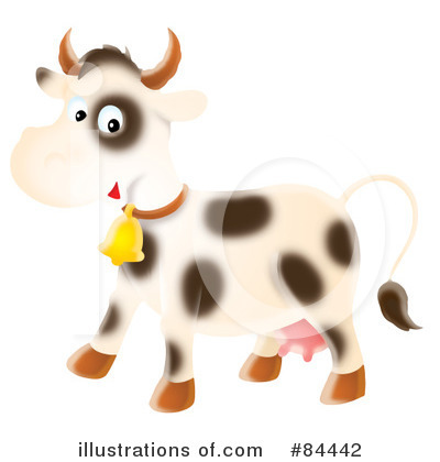 Cow Clipart #84442 by Alex Bannykh